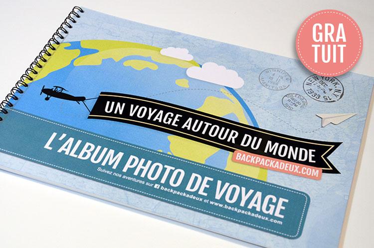 Album photo de voyage à compléter