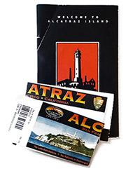 Billets d'entrée d'Alcatraz à San Francisco