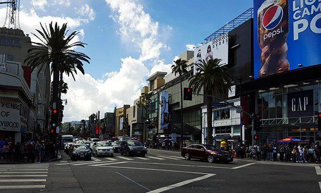 La visite de Los Angeles