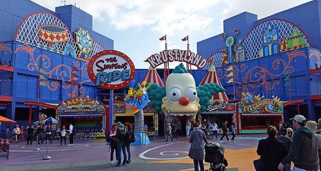Universal Studio Attractions 3D