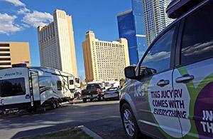 Dormir en RV à Las Vegas