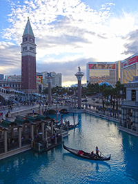 Les Pirogues de Venise à Vegas