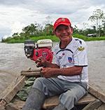 Benjamin, notre guide dans l'Amazonie