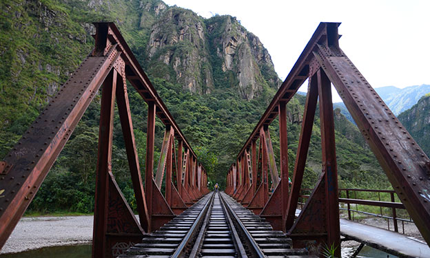La route vers Aguas Calientes