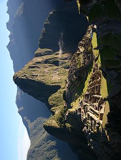 Visage du Machu Picchu