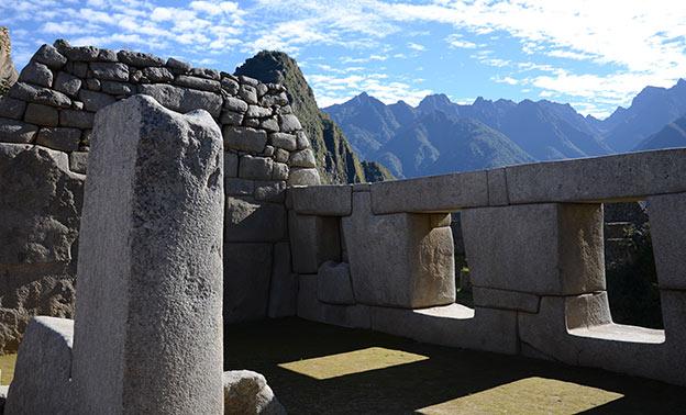Visite de la cité inca