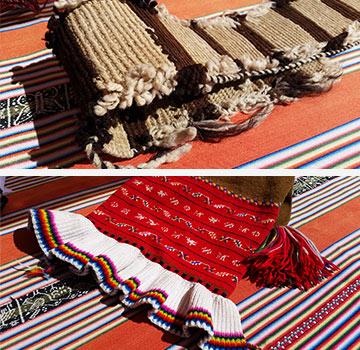 Les habitants du lac Titicaca