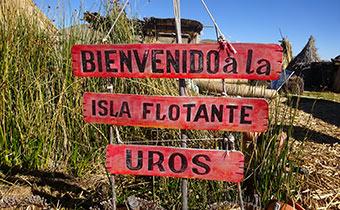 Bienvenue aux îles Uros