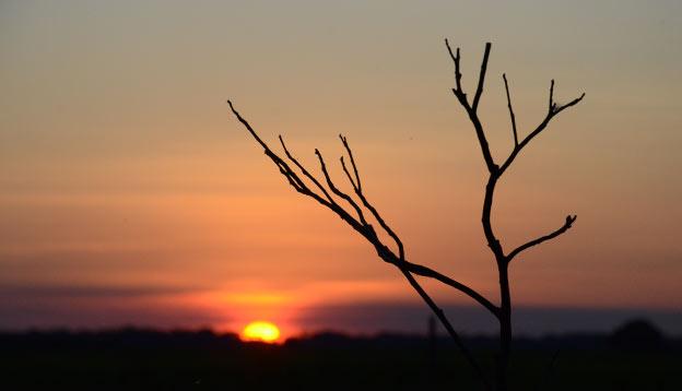 Un deuxième coucher de soleil
