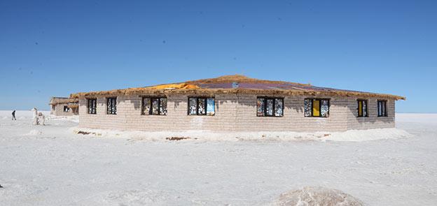 L'hotel de sel du Salar de Uyuni
