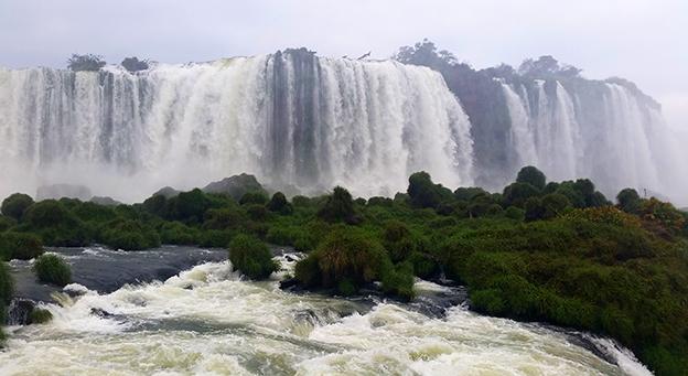 Les Chutes d'Iguazu, comment se passe la visite côté Brésilien