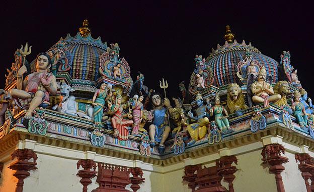 Temple Indien à Chinatown