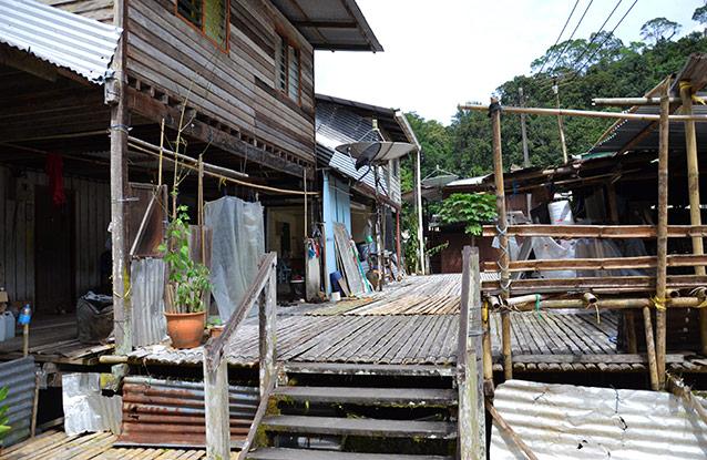 La longhouse de Anah Rais