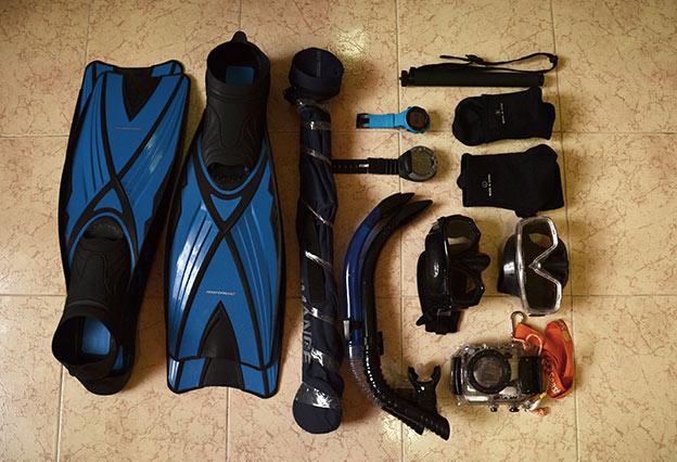 Notre matériel de plongée