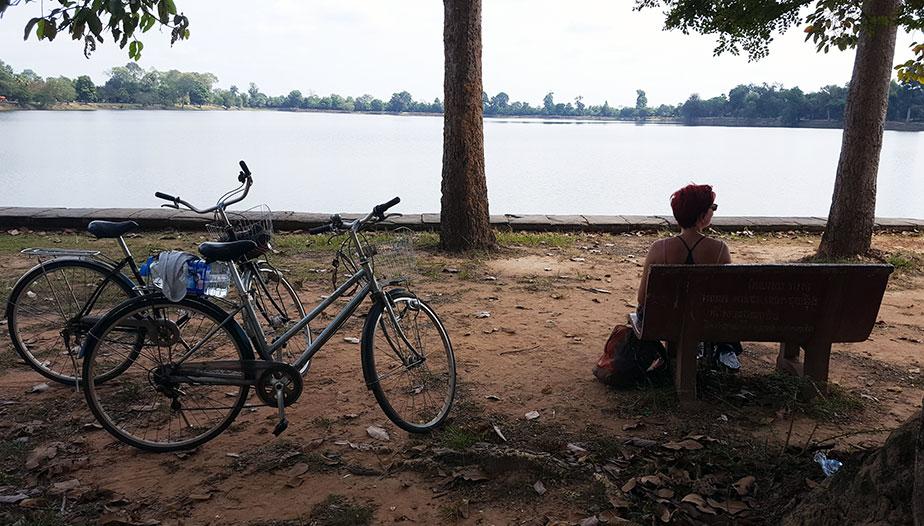 Pique Nique aux temples d'Angkor