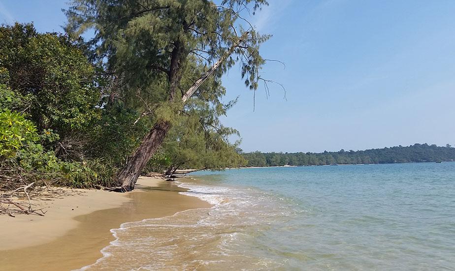 Des îles paradisiaques dans le sud du Cambodge