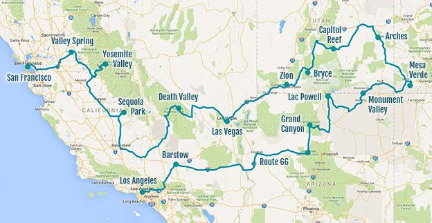 Bilan de notre road trip aux USA