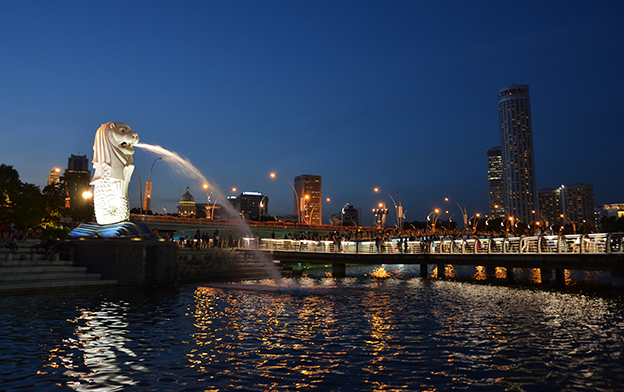 Merlion de Singapour