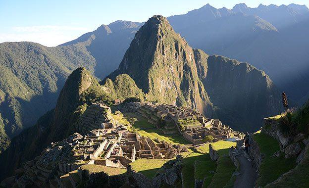 Le célèbre Machu Picchu